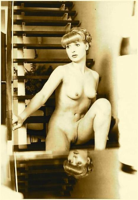 Vintage shaved nudes are