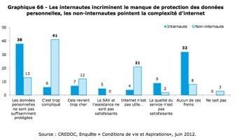 Les français et le numérique : l'étude 2012 du Crédoc !   Tout Numérique   Scoop.it