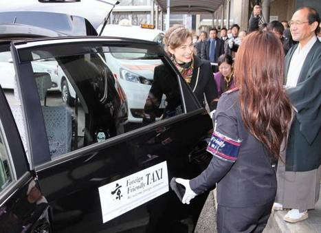 Kyoto taxis specializing in foreign tourists begin one-year trial | The Japan Times | English as an international lingua franca in education | Scoop.it