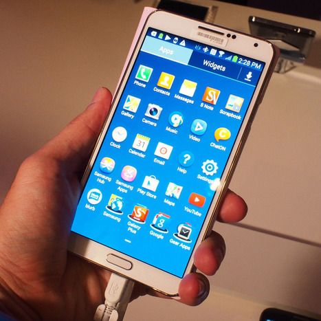 Hands On With the Samsung Galaxy Note 3 | Technology and Gadgets | Scoop.it