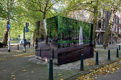 Using Ingenious Artistic Camouflage To Rid Cities Of Ugly Buildings | This Gives Me Hope | Scoop.it