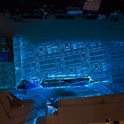 Microsoft's RoomAlive turns rooms into augmented interactive displays | visual data | Scoop.it