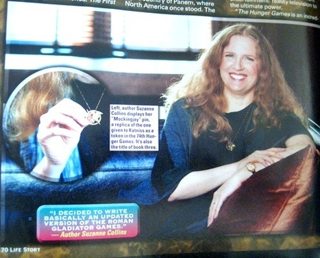 Hunger Games Author Suzanne Collins Wears A Mockingjay Pin | The ... | The Hunger Games | Scoop.it