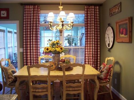 13 Cozy and inviting country-style dining rooms | Designing Interiors | Scoop.it