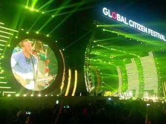 WATCH Coldplay at Global Citizen Festival: Chris Martin, SRK, Alia Bhatt, AR Rahman, Sonam Kapoor, Big B, PM Modi and Jay Z lend support - Times of India | ☊ ☊ Harmony60 Music ☊ ☊ | Scoop.it
