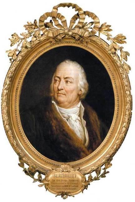 6 novembre 1822 mort de Claude Berthollet | Racines de l'Art | Scoop.it