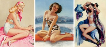 Pin-Up Queens: Three Female Artists Who Shaped the American Dream Girl | Antiques & Vintage Collectibles | Scoop.it