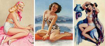 Pin-Up Queens: Three Female Artists Who Shaped the American Dream Girl | VIM | Scoop.it
