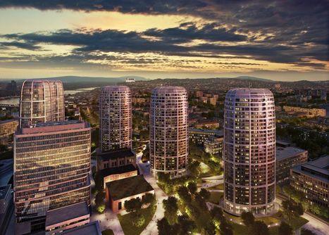 Ako bude vyzerať Bratislava v roku 2020? Socialistické budovy nahradia mrakodrapy, pribudne električková trať a okolie Nív sa zmení na nepoznanie | domov.kormidlo.sk | Scoop.it