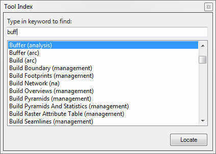 Geoprocessing Tool Index Dockable Window for ArcGIS 10 | ArcGIS Resource Center | ArcGIS-Brasil | Scoop.it