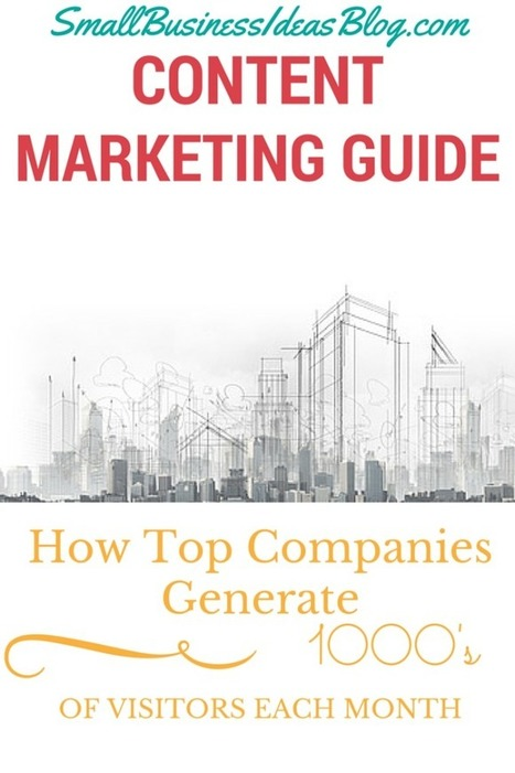 Content Marketing Guide to Generating 1000's of Visitors | H2H Marketing | Scoop.it