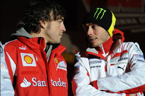 Alonso and Rossi to field Ferrari at Le Mans? | Ductalk Ducati News | Scoop.it