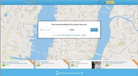 Foursquare convierte su página de inicio en un buscador local para competir mejor contra Yelp | Foursquare y sus novedades | Scoop.it