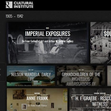 Google coloca online 42 exposições históricas   Tisanas   Scoop.it