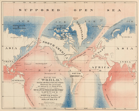 These Maps Show the Epic Quest for a Northwest Passage | Antarctica | Scoop.it