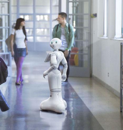 Aldebaran introduit Pepper en France et lance un programme pour les entreprises | Des robots et des drones | Scoop.it