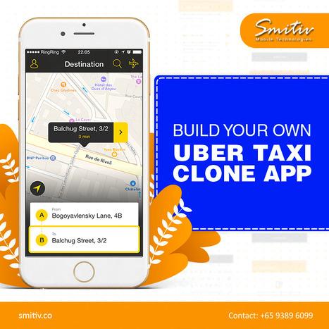 Uber Clone Script | Uber Taxi Booking Mobile Ap