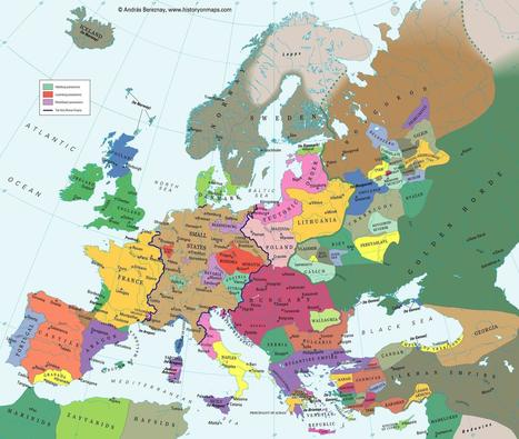 #Europe in the beginning of the 14th century #history | Limitless learning Universe | Scoop.it