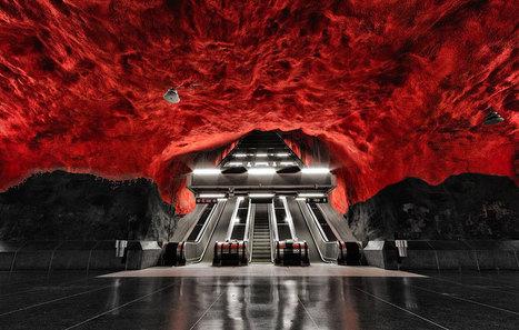 Amazing Underground Art In Stockholm's Metro Station   Machinimania   Scoop.it