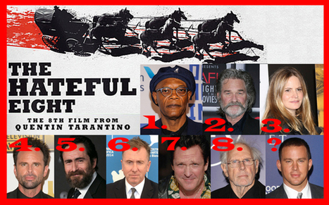 Quentin Tarantino's The Hateful Eight Assemble in a Behind-the-Scenes Image - Comingsoon.net | Le cinéma, d'où qu'il soit. | Scoop.it