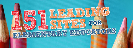 151 Leading Sites for Elementary Educators | Pedagogia Infomacional | Scoop.it