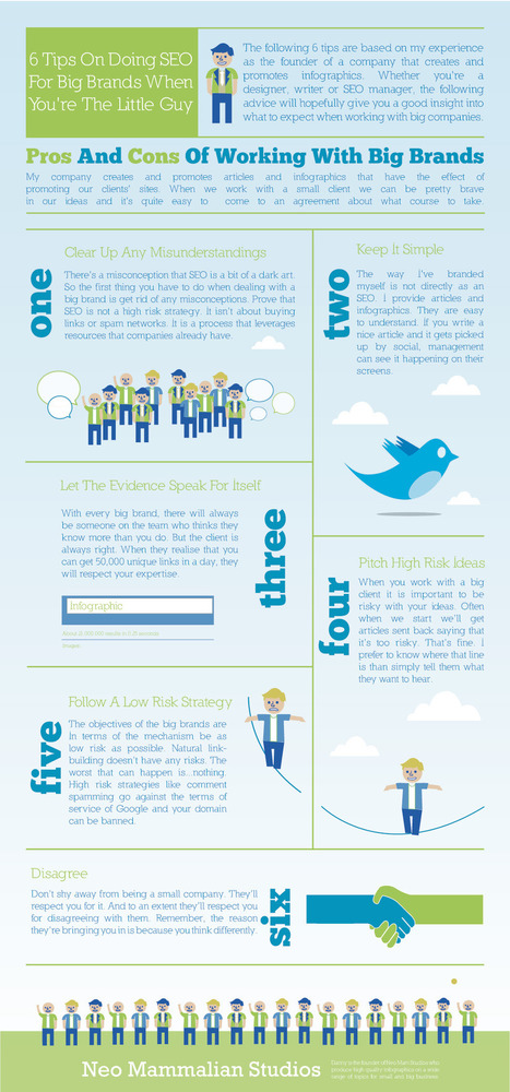 6 SEO Tips for the Little Guy [Infographic] by @neomammalian | Web 2.0 Marketing Social & Digital Media | Scoop.it