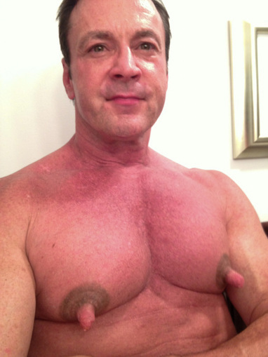 Large Nipples In Men 70