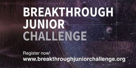 High School Senior wins Breakthrough Junior Challenge | alternative health | Scoop.it