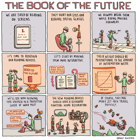 The future of books as seen in these 15 funny cartoons | Librarysoul | Scoop.it