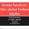 Twitter - perustietoa, vinkkejä ja linkkejä