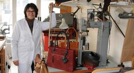 Aubencheul-au-Bac : La maroquinière a plus d'un tour dans son sac | Métiers, emplois et formations dans la filière cuir | Scoop.it