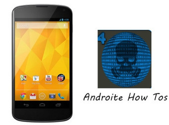 LG Nexus 4 Model E960 Now Can Be Customized With DemolitioN4 Custom ROM Flash Mako | AndroidTuition | Scoop.it