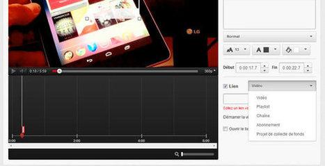 YouTube va bientôt permettre d'insérer un lien externe dans une vidéo | Quand la communication passe au web | Scoop.it