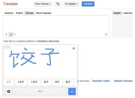 Google Translate : la traduction manuscrite accessible depuis votre mobile Android | Freewares | Scoop.it