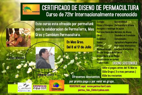 Get Curso de Diseno de Permacultura. Certificado Internacionalmente Reconocido tickets on Ecovamos | ecoagro | Scoop.it