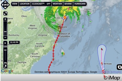 The Washington Post - Hurricane tracker: Weather information, path forecasts and storm tips   Mapping NYC hurricane   Scoop.it