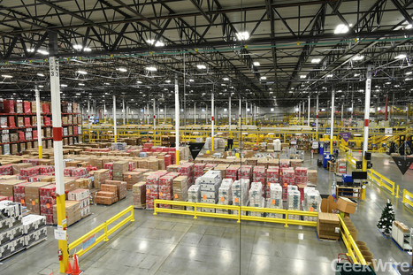 Inside look: How Amazon's robots help pick, pack, and ship your holiday purchases | Veille & Culture numérique | Scoop.it
