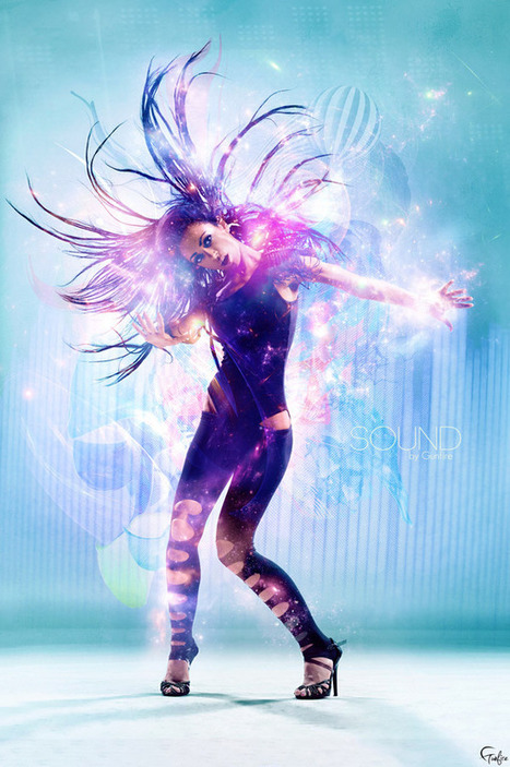 55 Just Gorgeous Dance Photo Manipulation Artworks | Artifacts | Scoop.it