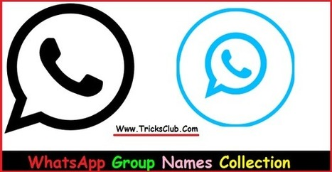 WhatsApp Group Names (Cool, Funny) Collection F