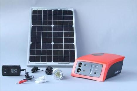 Solar Charger Made for Africa Coming to the U.S. - Technology Review | Sustain Our Earth | Scoop.it