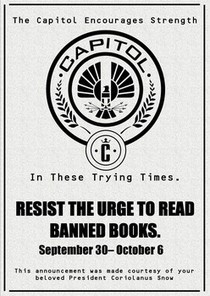 'The Hunger Games' inspires Banned Books Week posters at Texas library | LibraryLinks LiensBiblio | Scoop.it