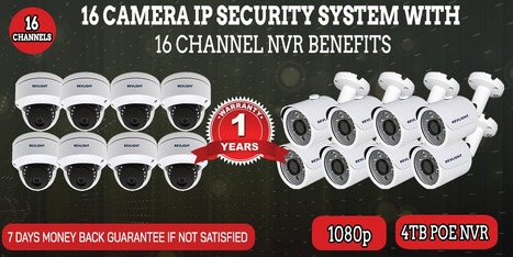 166ce5cb7 16 Camera IP Security System With 16 Channel NVR Benefits –