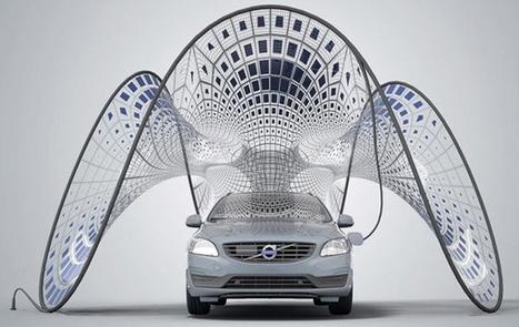 Pure Tension – Une voile solaire pour les véhicules électriques Volvo | Remembering tomorrow | Scoop.it