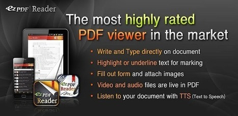 ezPDF Reader - Applications sur l'AndroidMarket | Android Apps | Scoop.it