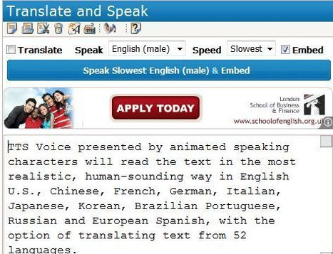 ImTranslator, traduction vocale en ligne   Time to Learn   Scoop.it