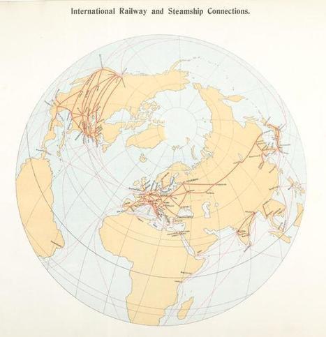 International Railway and Steamship Connections.   Networking the world - Espace et réseaux   Scoop.it