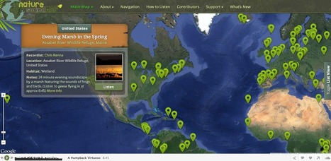 Free Technology for Teachers: Nature Sound Map - Listen to the Sounds of Nature All Over the World | Aural Complex Landscape | Scoop.it