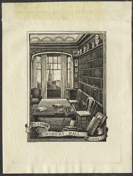 BibliOdyssey: The Bookplate Collection   Words and What They Are   Scoop.it