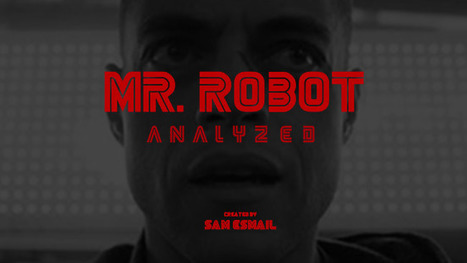 Mr. Robot Creates Visual Tension with Composition Techniques | Abolish the Rule of Thirds | Scoop.it