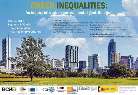 Green Inequalities: An Inquiry into Urban Environmental Gentrification | #territori | Scoop.it